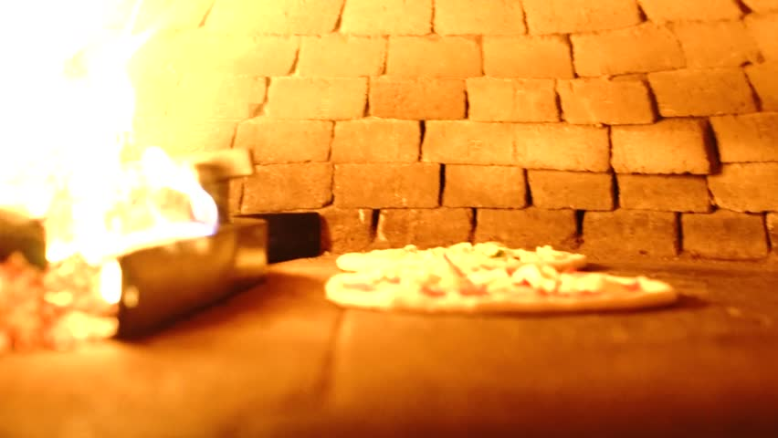 Traditional Italian pizza cooking process | Shutterstock HD Video #33757570