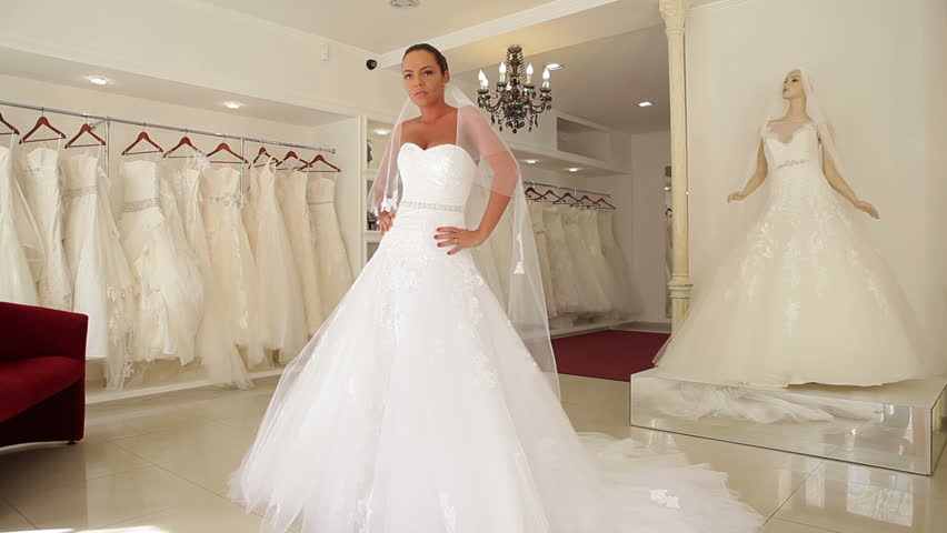 e8cd304227b1 Video stock a tema Women in Wedding Dresses in (100% royalty free ...