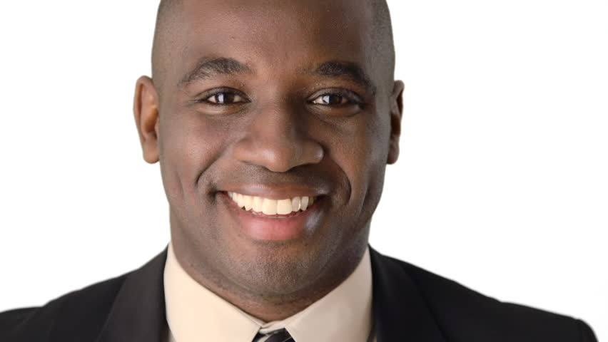 Close up of smiling African American Businessman