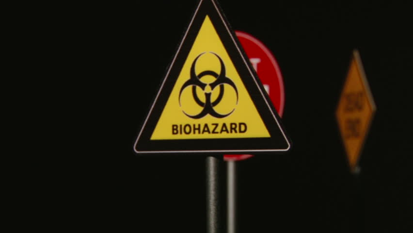 Biohazard, Do not enter, Dead End - Signs