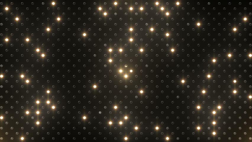 LED Light wall. Heart.   Shutterstock HD Video #3392984