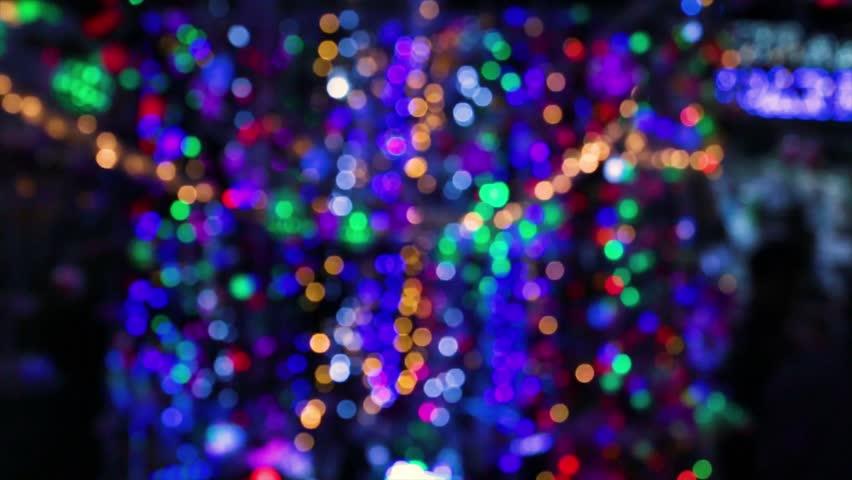 Flashing light bokehs | Shutterstock HD Video #34062070