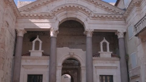 The Peristyle of Diocletian's Palace, Split
