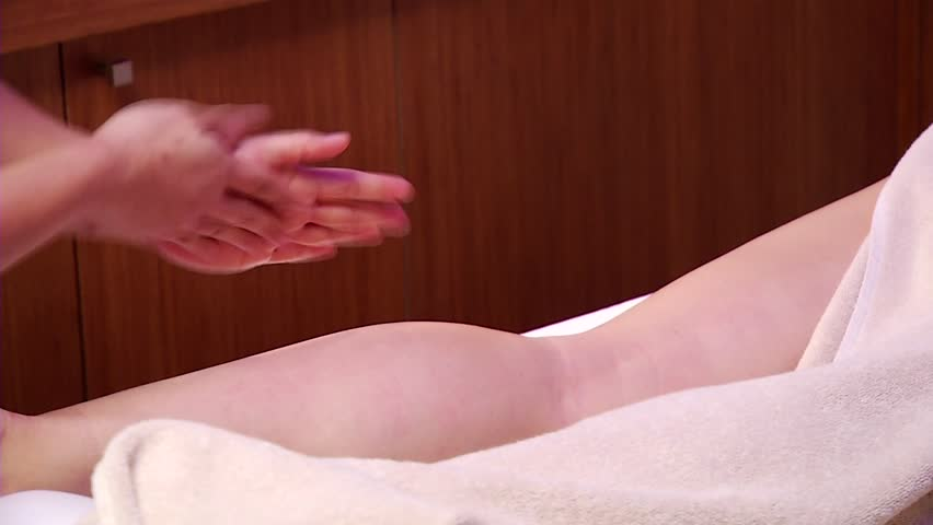 Thai massage in SPA salon.