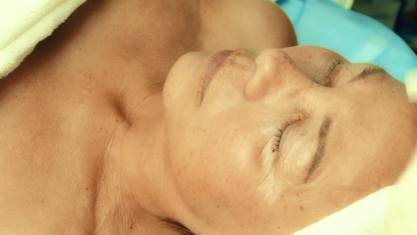 Adult video facial simply