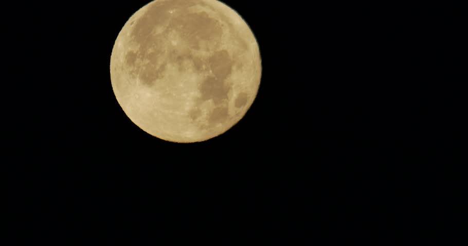 January Wolf Moon 99 Percent Full.  Waning Gibbous. 2018