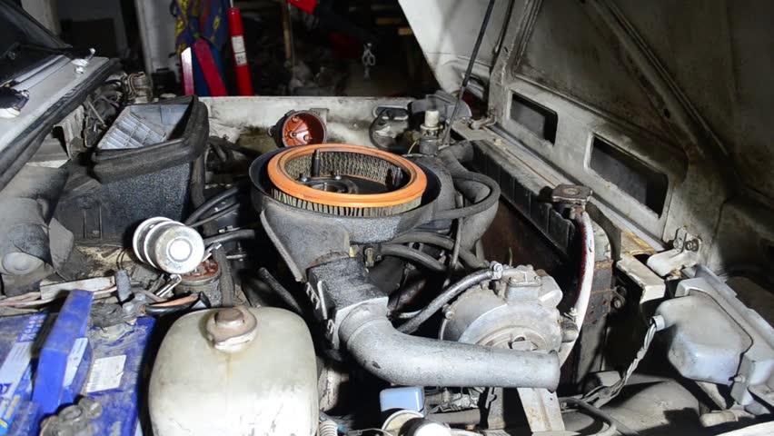 Header of air filter