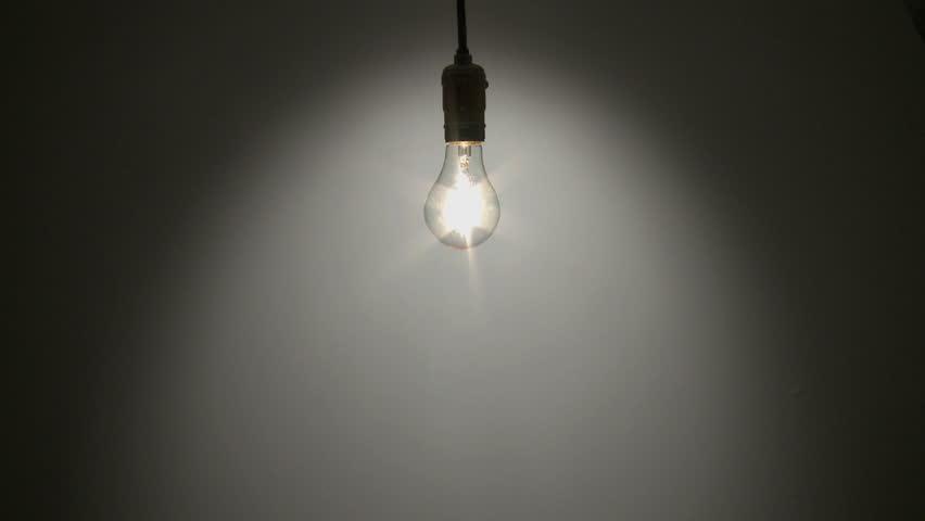 Lighting A Dark Room idea light bulb stock video, footage - idea light bulb hd video