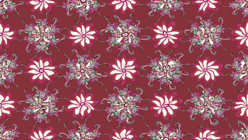 Pink vintage moving pattern   Shutterstock HD Video #34561990
