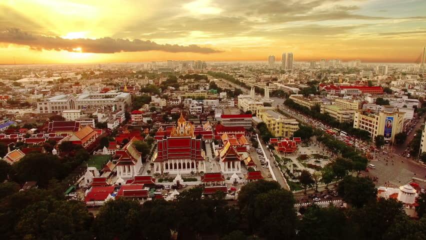 Bangkok, Thailand by drone.