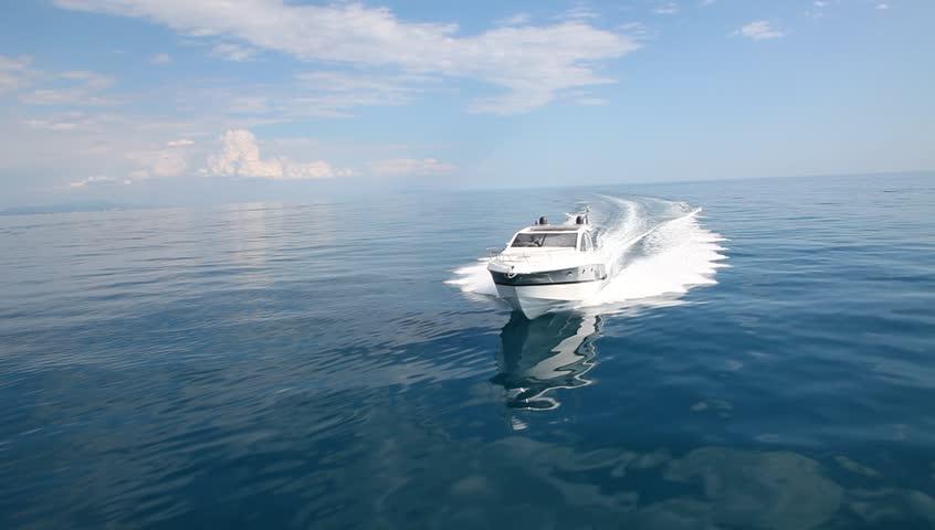 Motor boat, rio yachts best italian yacht | Shutterstock HD Video #3478982