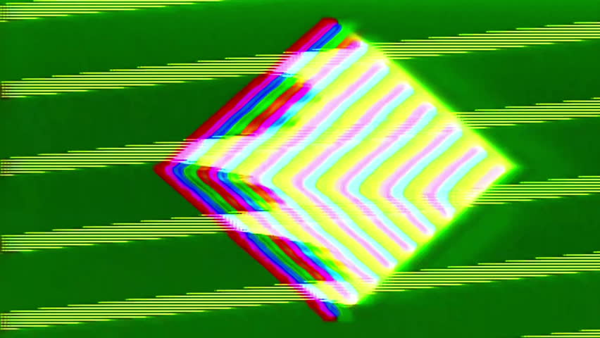 Analog Abstract Video Signal Noise FeedBack Manipulation | Shutterstock HD Video #34819120