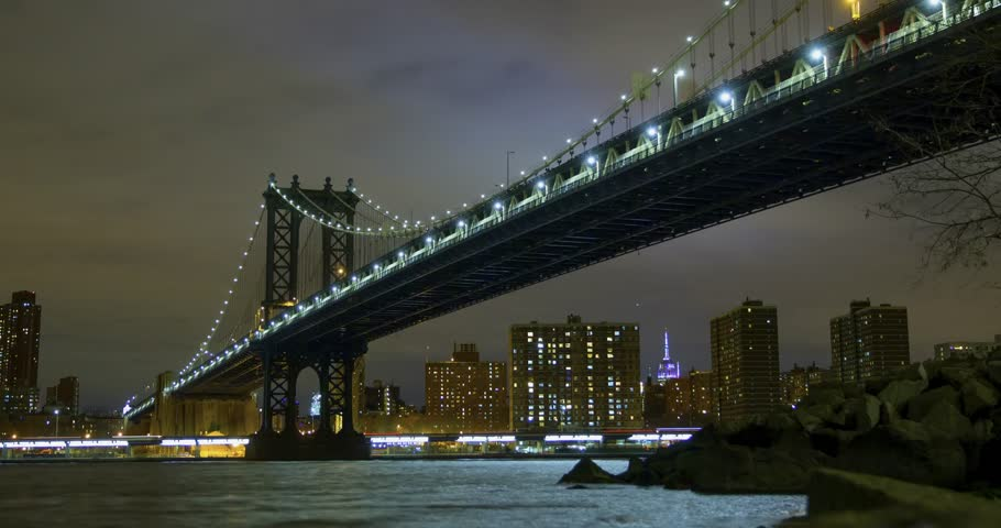 New York City time lapse.   Shutterstock HD Video #34983994