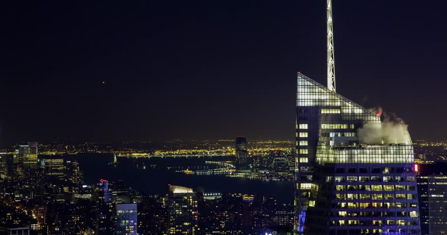 New York City time lapse.   Shutterstock HD Video #34984027