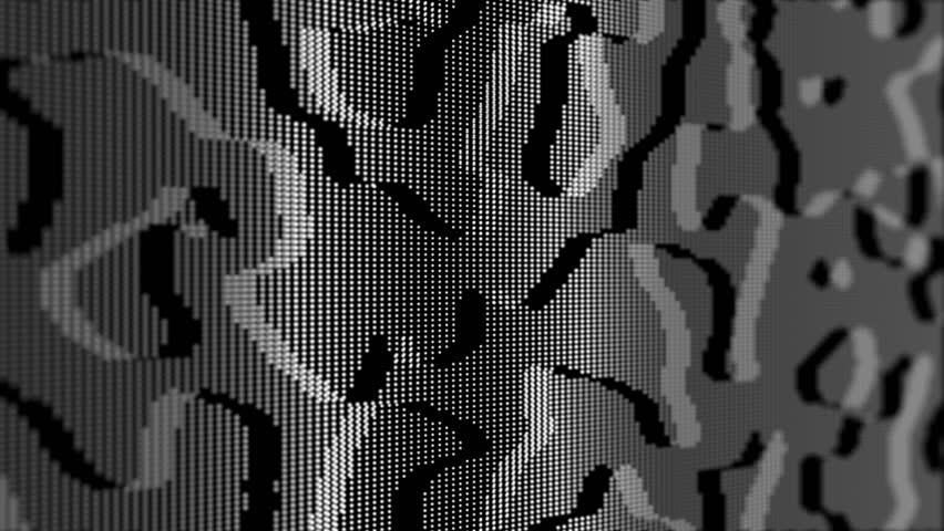 abstract slick digital modern motion background loop white