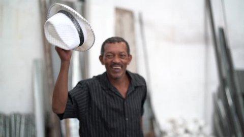 Brazilian Man Dancing Samba - Sambista
