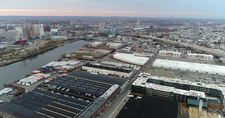 Newark NJ and East Orange Aerials . Newark is the largest city in the U.S. state of New Jersey, Nov 2017