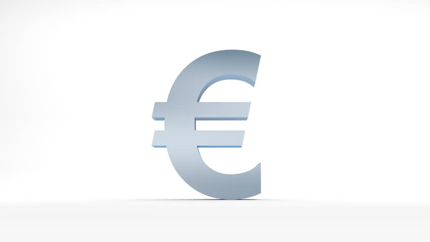 The Fall Of Euro Animation Symbol Falling To Pieces