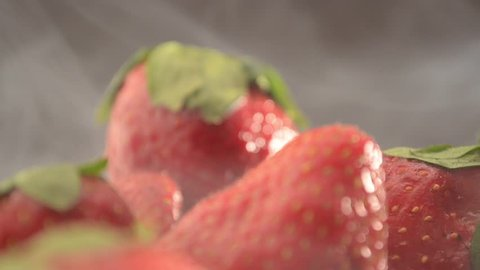 Strawberries In a Bowl - Dolly Out