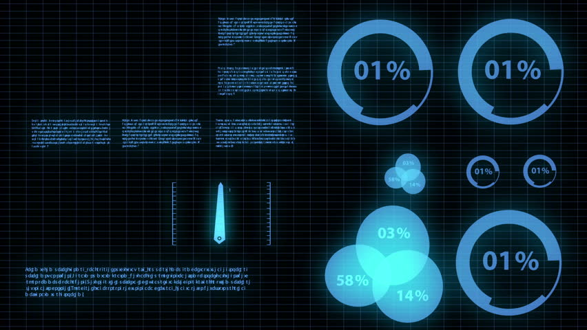 Motion infographic futuristic glow concept | Shutterstock HD Video #3524687