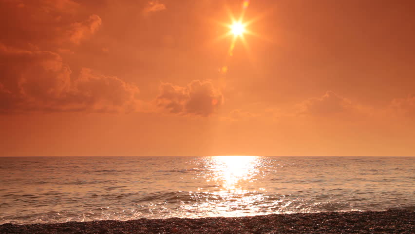 Teen couple on the beach | Shutterstock HD Video #3536570