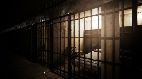 Prison cells infinite loop animation.