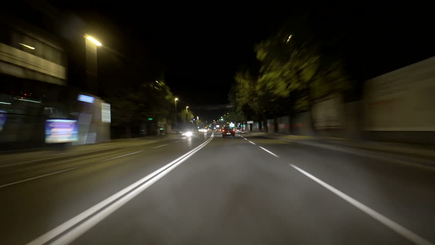 Car driving time lapse   Shutterstock HD Video #3659900