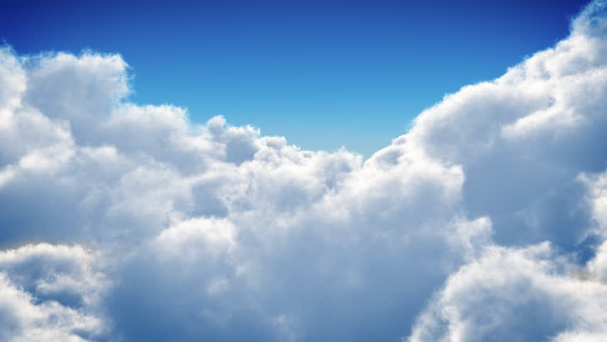 Flight over clouds, loop-able animation | Shutterstock Video #3671960