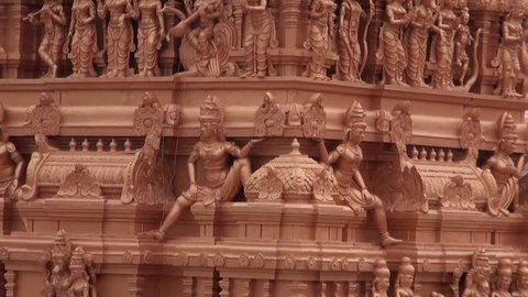 Sri Datta Venkateshwara Temple Top Sculptures