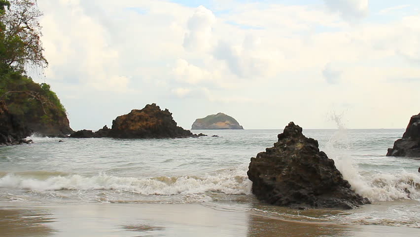 Manuel Antonio Beach Costa Rica 2. Manuel Antonio National Park beach in Costa Rica.