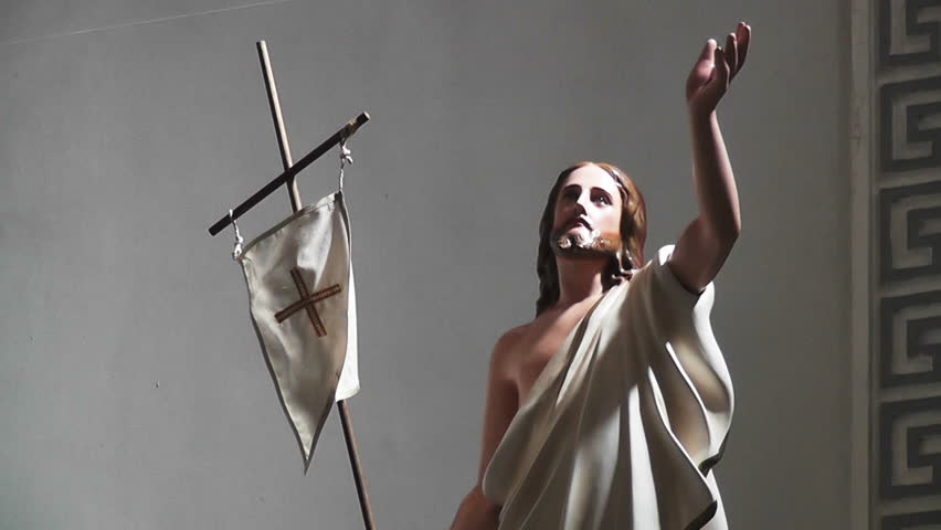 Jesus Christ Resurrection Statue