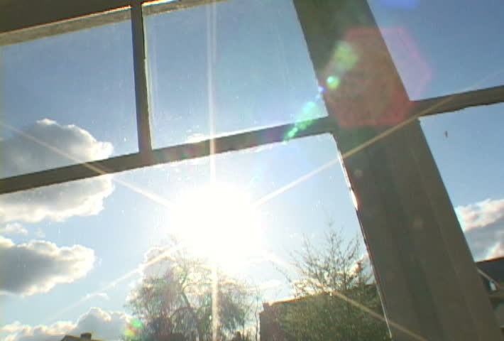 Stock Video Of Sun Setting Through House In Portland