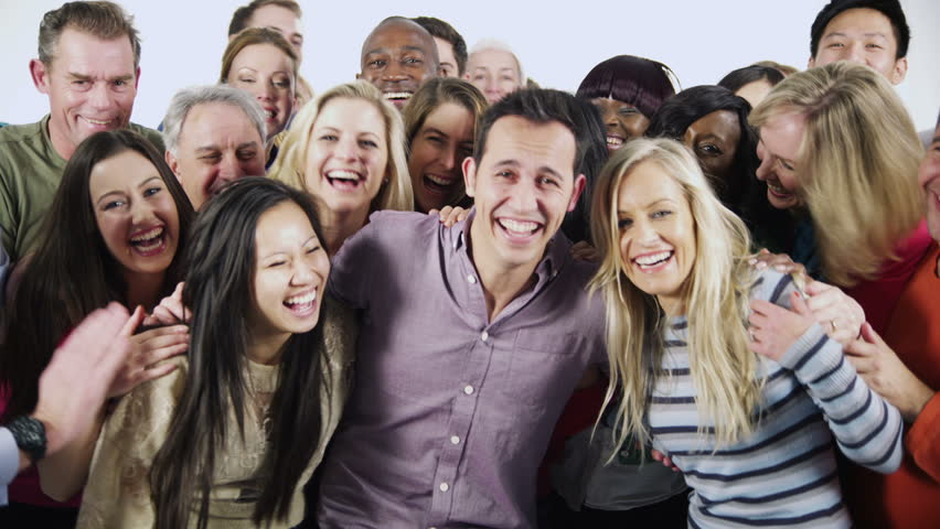 Family Isolated Stock Footage Video  Shutterstock-8796