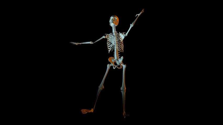 dancing skeltons