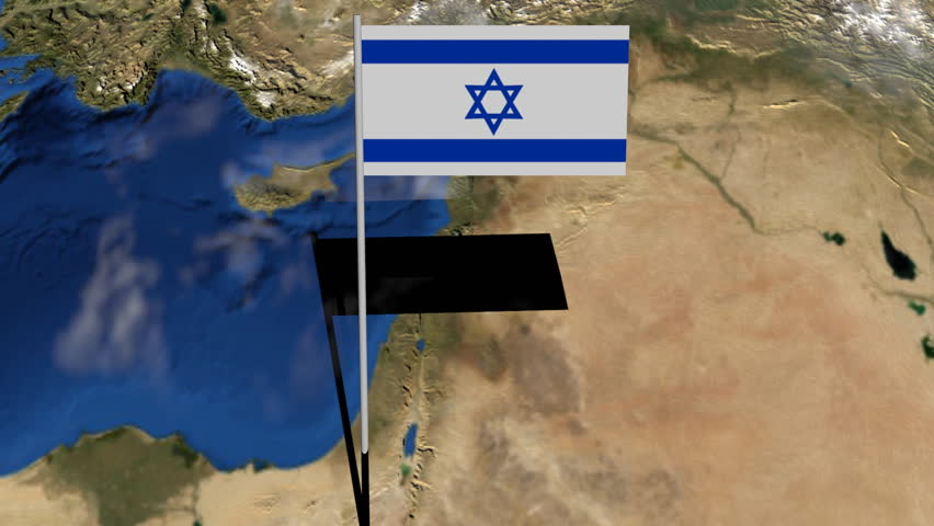 Israel map stock video footage 4k and hd video clips shutterstock gumiabroncs Gallery