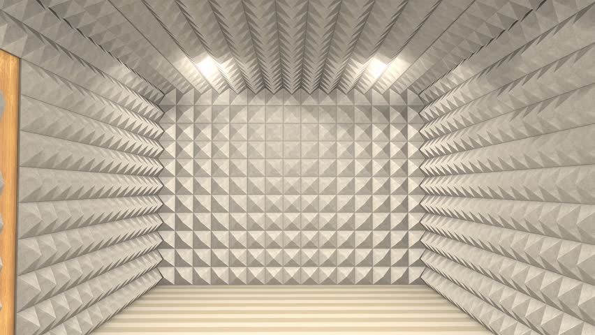 Stock Video Clip Of Sound Proof Room Anechoic Chamber