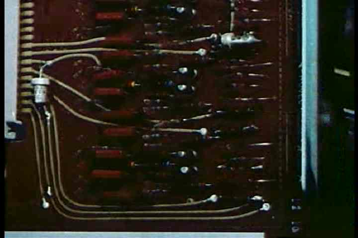 1950s - Scientists at the Bell laboratories invent and modify transistors for communications in 1950.
