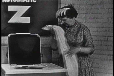 1950s - Westinghouse washing machine commercial from the 1950s.