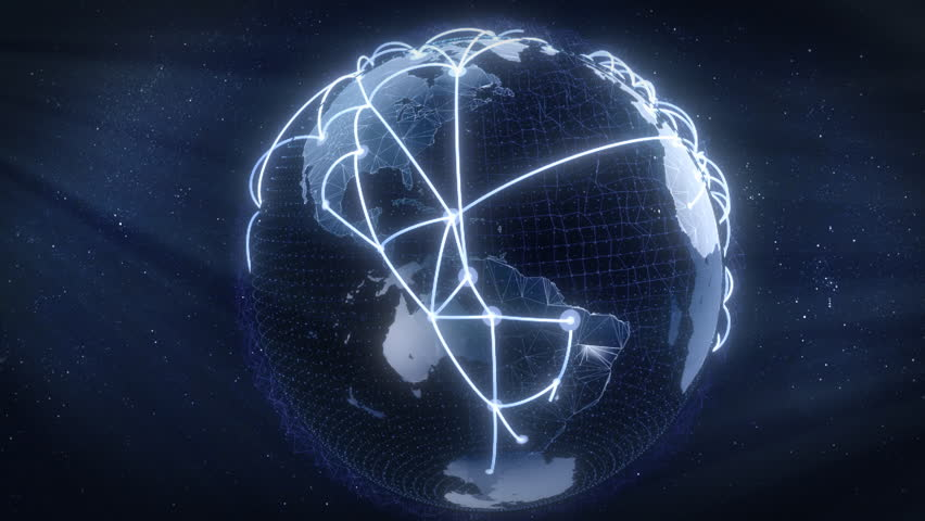 Growing connections over the earth