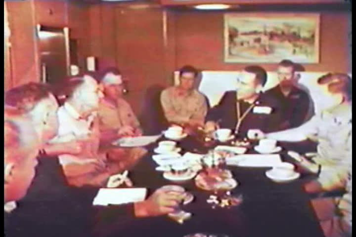 1960s - South Pacific nuclear tests on Christmas Island in 1962. - SD stock video clip