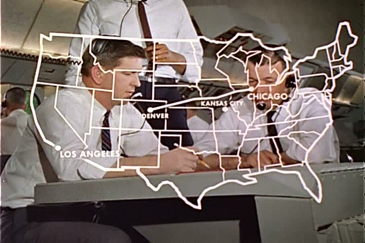1960s - Training programs for control tower operators in 1963.