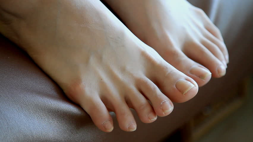 from Sonny ebony bare feet nude
