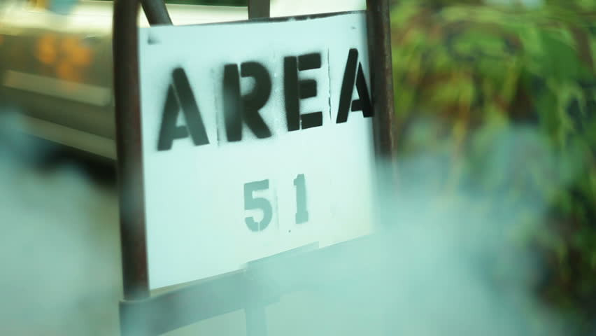 Area 51 Sign Stock Footage Video (100% Royalty-free) 4033600 | Shutterstock