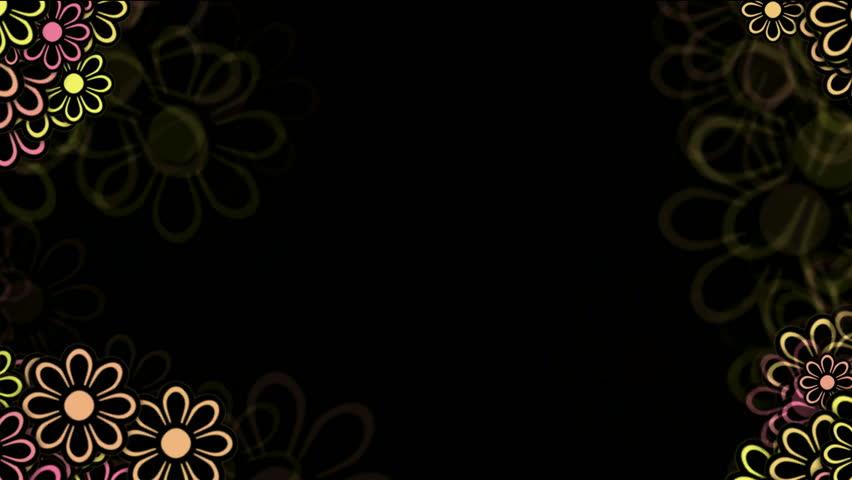 Wild Daisy Flower Frame Spring Scence Wedding Background Stock Footage Video 4033990 Shutterstock