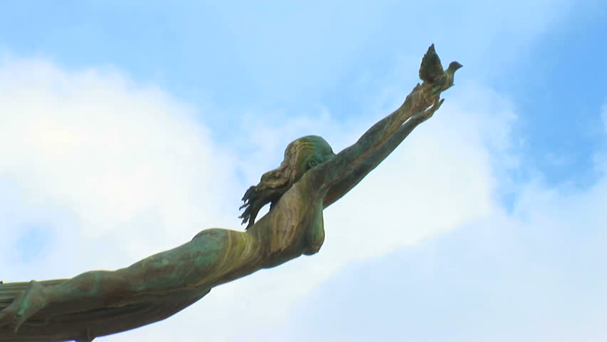 One of the signature statues in Puerto Vallarta