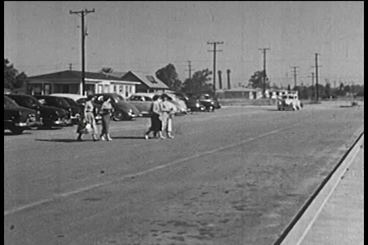 1950s - A 1950s film about hot rods