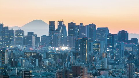 TOKYO - FEB 24: With over 35 million people, Tokyo is the world's most populous metropolis and is described as one of the three command centers for world economy February 24, 2013 in Tokyo, Japan
