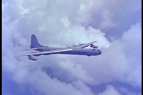 1950s - As Russia rises in the Cold War, the Air Force designs new planes to combat the cold war threat.
