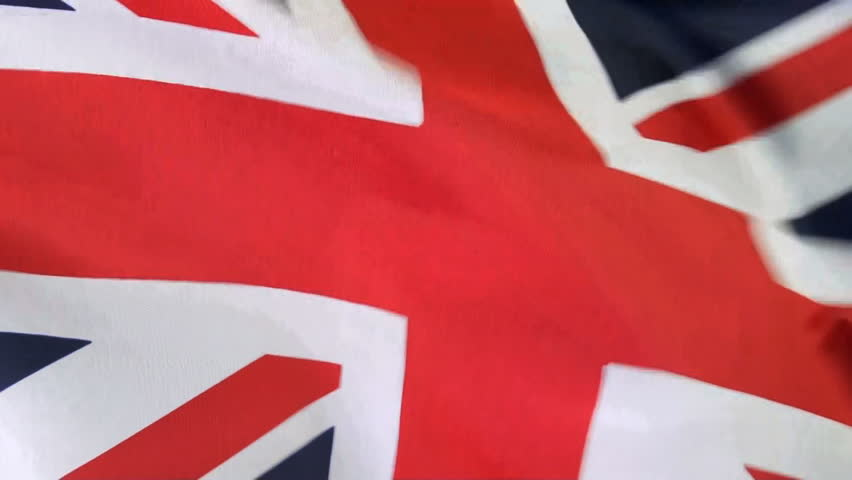 Extreme close up of Flag of England waving in the wind, shot in HD video NOT computer generated | Shutterstock HD Video #4212370