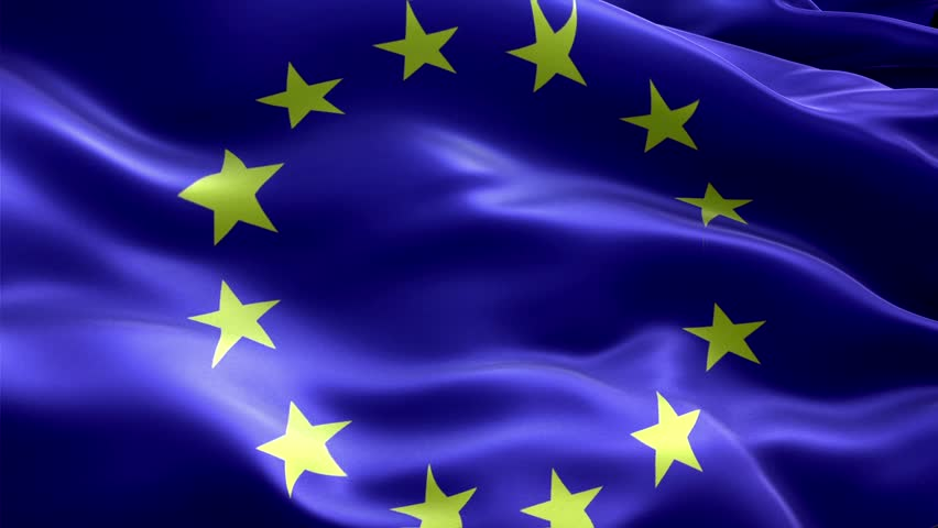 European Union Flag Animation Stock Footage Video (100% ...